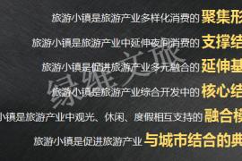 林峰:旅游小镇的市场逻辑与开发运营模式