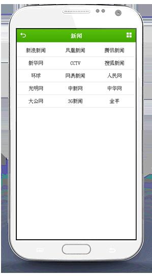 手机网址导航-经典风格 网址大全手机版源码第3张-菜鸟分享