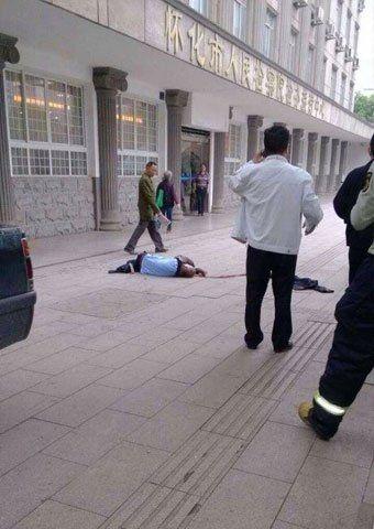 湖南怀化检察院一男子坠楼 称曾散发