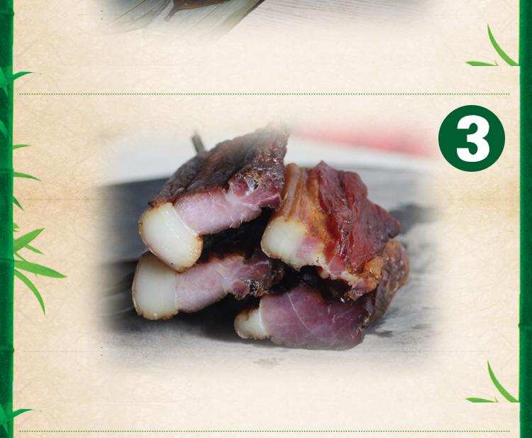 正宗湖南溆浦特产新鲜肉粽枕头粽腊肉粽当天现做大肉粽第7张-菜鸟分享