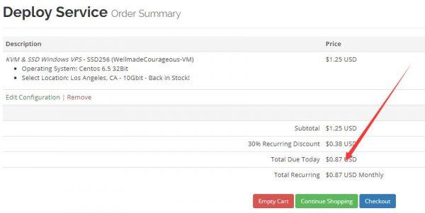七折购买VirMachVPS的方法:解决优惠码窗口不显示的问题!第4张-菜鸟分享